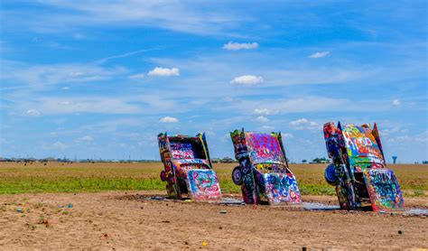 Cadillac Ranch Illinois by Road Trip Tip 11 Route 66 Amerika Only