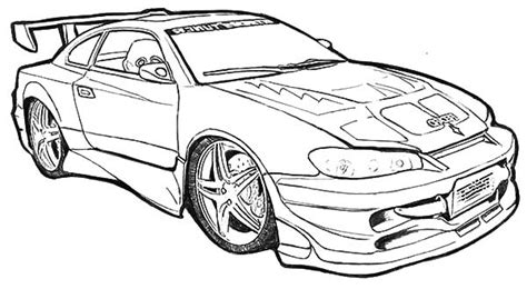 big car coloring page big racing car free coloring page cars kids coloring pages