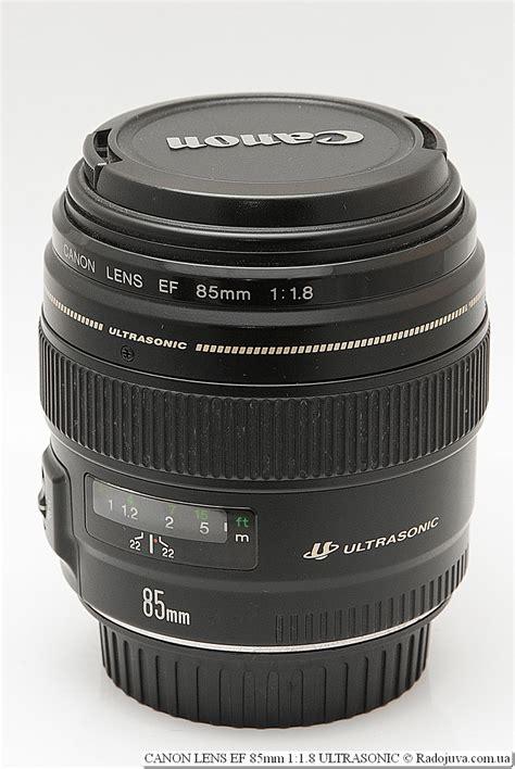 Lens Ef 85mm F 1 8 Usm canon ef 85mm f 1 8 usm