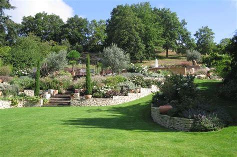 jardin paysag 233 en pente jardin comment et