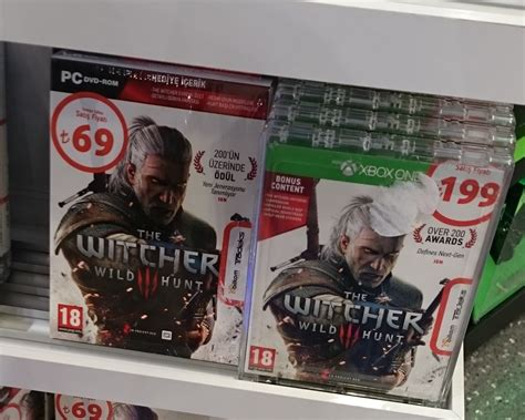 witcher 3 console witcher 3 pc price vs console price rebrn