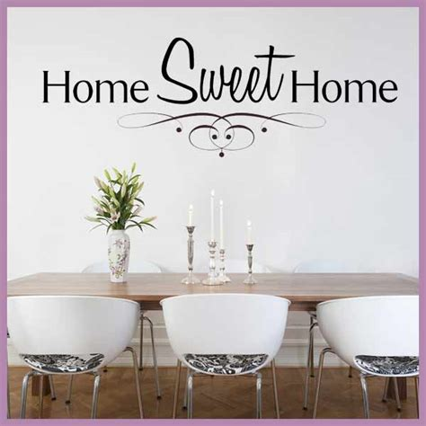 lovely home sweet home wall sticker idea home sweet home