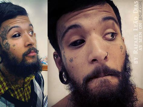 Eyeball Tattoo Safe | black eyes in brazil bme tattoo piercing and body