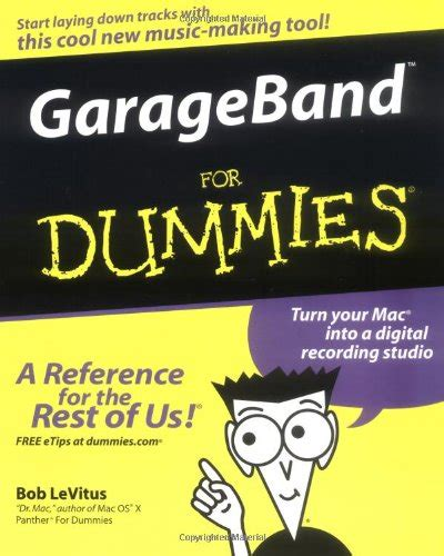 Garageband Book Garageband For Dummies Ebook Rezunudyvama
