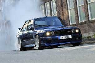 bmw e30 m3 burning it up http modified