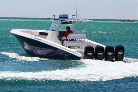 fountain boat rub rail 2012 fountain 38 open with quad 350 verados the hull