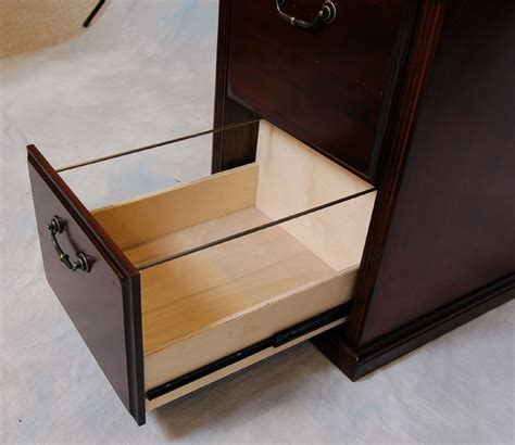Cherry 2 Drawer Locking Office File Cabinet Wood 2 Drawer Locking Wood File Cabinet