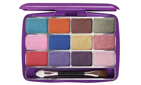 Eyeshadow Kit Mirabella 3 eyeshadow palette warna warni lokal daily