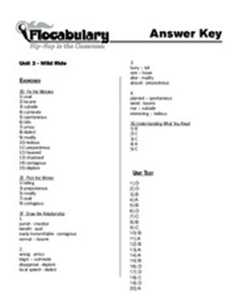Flocabulary Worksheet Answers by 28 Flocabulary Worksheet Answers Creating A Memorable