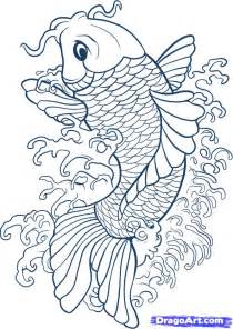 koi fish drawing color painting is just another way of keeping a diary koi fish
