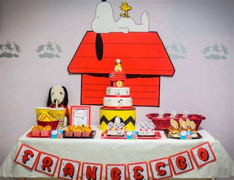 Snoopy Birthday Decorations by Snoopy Birthday Quot Francesco Snoopy Quot Catch