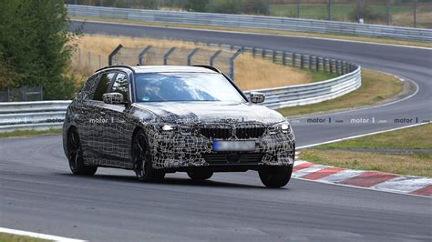Bmw 3 Wagon 2019 by 2019 Bmw 3 Series Wagon Up At The Nurburgring