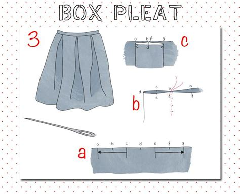 pattern for knife pleats 32 best images about sewing techniques on pinterest