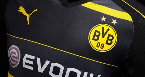 Jersey Dortmund Away dortmund 16 17 away kit released footy headlines