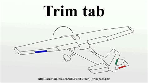 boat rudder trim tabs trim tab youtube