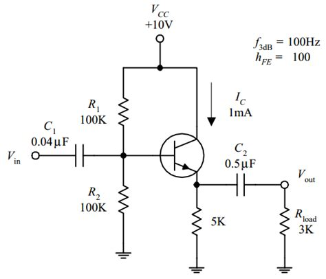 resistor divider bjt bias a question on voltage divider resistances used in bjt biasing electrical engineering
