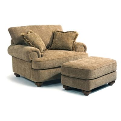 Flexsteel 7321 10 08 Patterson Chair And Ottoman Discount Cheap Chairs With Ottomans
