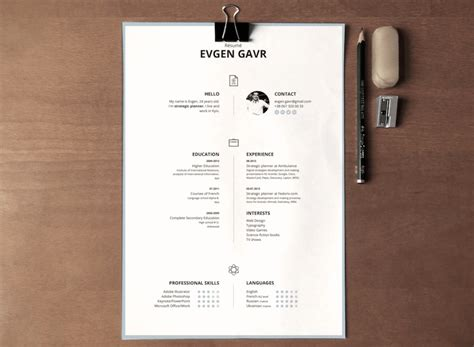 Resume Template Word 07 by 50 Best Resume Templates For Word That Look Like Photoshop