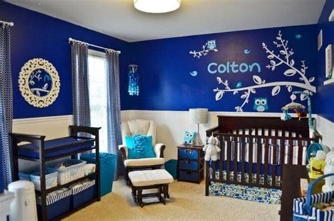 baby boy bedroom ideas blue and white nursery bedroom design for a boy kidsomania