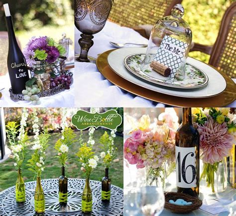 Inspirations for a vineyard wedding decoration ? Weddings
