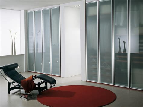 Home Office Wardrobe Design by Wardrobe With Frosted Glass Doors For The Home And Office