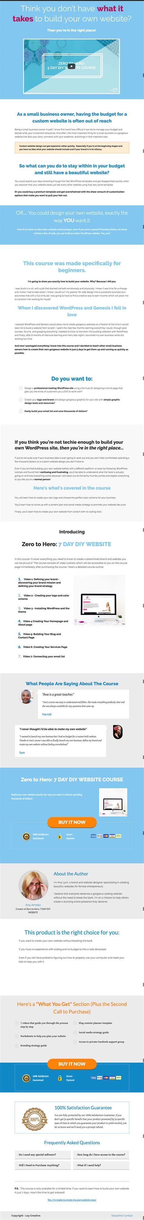 use the full web version of edmodo to access the quiz how to build a sales page in wordpress with no design