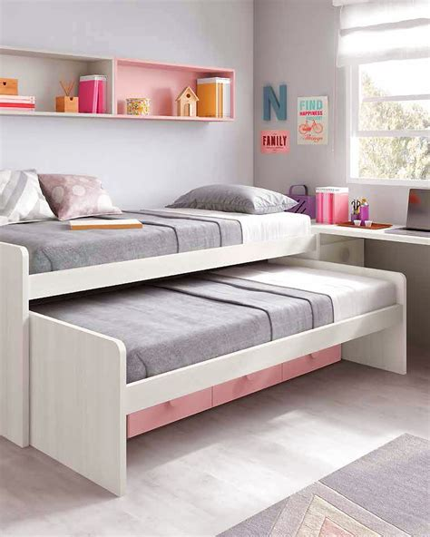 Lit For by Chambre Ado Fille Astucieuse Avec Lit Gigogne