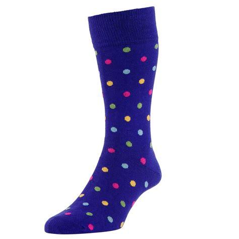 3 In 1 Polkadot Organizer For Bra Socks hj purple polka dot luxury bamboo rich s socks from ties planet uk