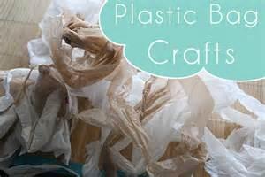 Plastic Bag Crafts For Kids - bag crafts
