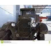 Soviet Truck GAZ AA Of World War II Times Editorial Photo