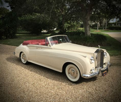 rolls royce vintage convertible 1960 rolls royce four door convertible rare national award