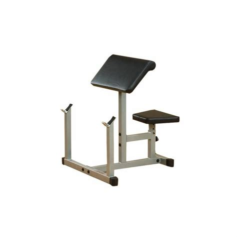 preacher curl bench body solid preacher curl bench package