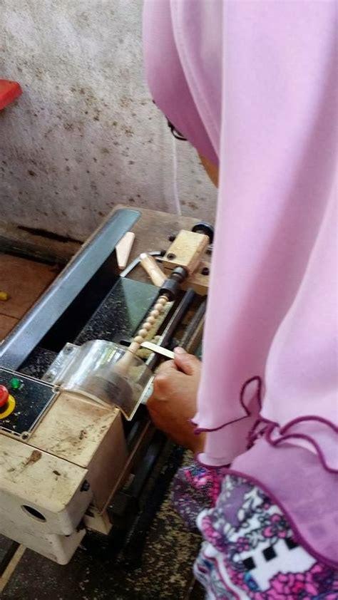 Gelang Kayu Kemuning Hitam 8mm kayu warisan malaysia tasbih buatan tangan dari kayu2