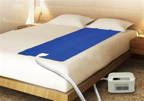 water cool  warm air conditioner mattress pad  led