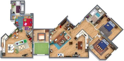 big bang theory floor plan bazinga 21 awesome facts you might not know about the big