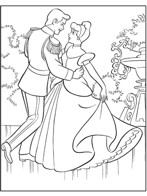 disney princess and prince coloring sheet