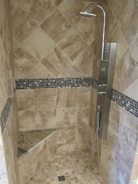 Bathroom shower remodel project modern dallas by the floor barn