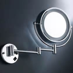 extending magnifying bathroom mirror wall mounted extending shaving 7x magnifying bathroom