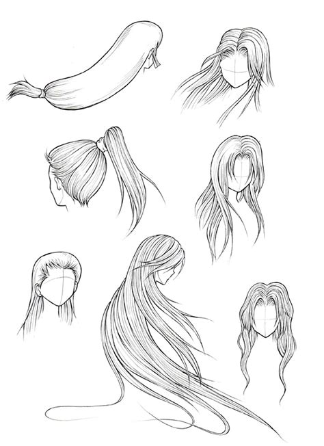 How to Draw Hair (Part 2) ? Manga University Campus Store