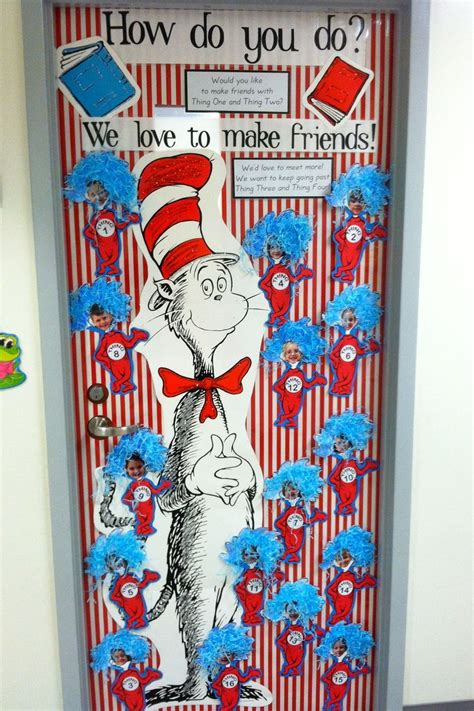 Thing On Door by Pin By Lori Alford On Kindergarten Dr Seuss