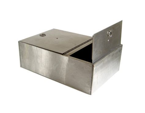 Stainless Steel Bread Box Drawer Insert Kitchen Cupboard
