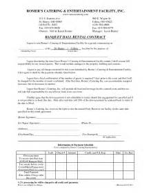 Banquet Contract Template by Banquet Invitation Template Ebook Database