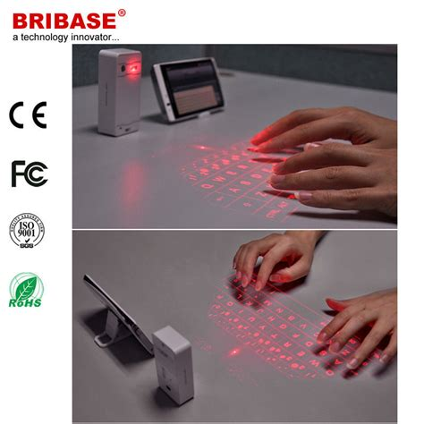 Keyboard Infrared cheap price laser keyboard infrared bluetooth