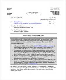 Informal Memo Template by Sle Memo 26 Documents In Pdf Word
