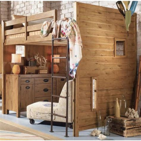 full size loft beds full sized loft bed ideas for kate pinterest bunk