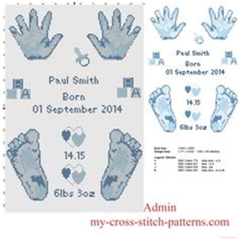 Montana Birth Records Free Baby Birth Record Cross Stitch Pattern Infinity Symbol With Baby And Chevron