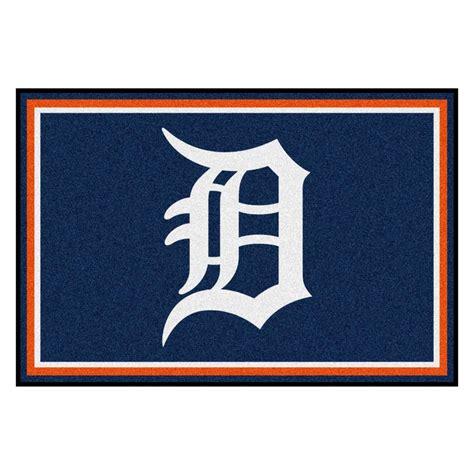 Kitchen Faucets Kansas City Fanmats Detroit Tigers 5 Ft X 8 Ft Area Rug 7058 The
