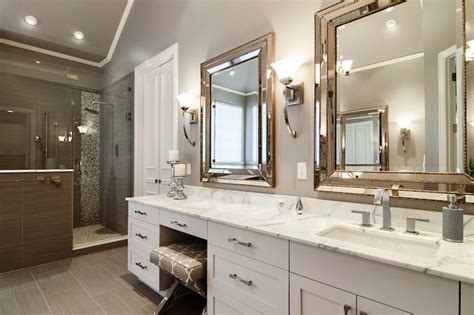 beaded beveled mirror contemporary bathroom sherwin williams functional gray hatfield