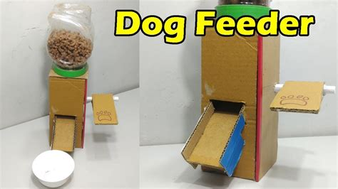Puppy S At Home by How To Make Feeder At Home Food Dispenser From