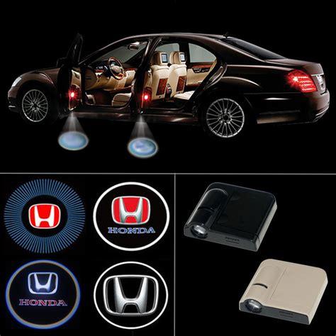 Door Light Pintu Logo Honda wireless led car door light logo projector welcome ghost shadow light for honda accord civic fit